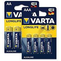 Alkalické baterie Varta Longlife