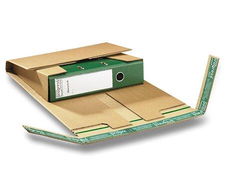 Obrázek produktu Univerzální zásilkový obal Progress pack - na pořadače, 320 x 290 x 80 mm