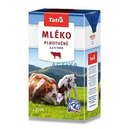 Obrázek produktu Tatra - trvanlivé mléko - plnotučné 3,5%, 1 l