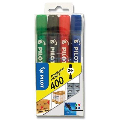 Obrázek produktu Pilot 400 - permanentní popisovač - 4 barvy