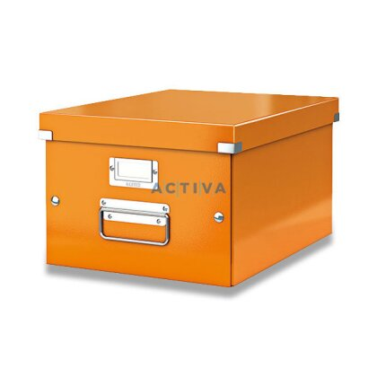 Obrázek produktu Leitz - krabice A3 - oranžová