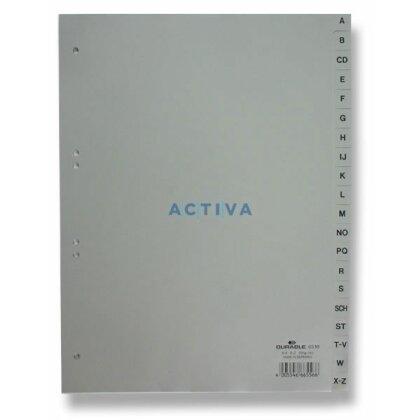 Obrázek produktu Durable - polypropylénový rozlišovač - A-Z