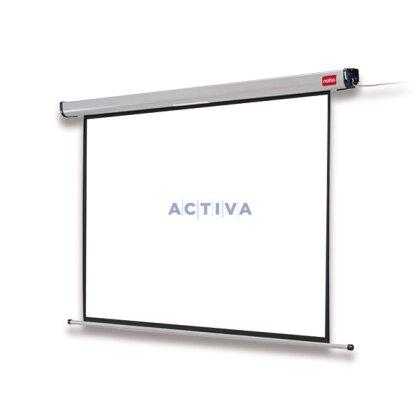 Obrázek produktu Nobo 4:3 - nástěnné elektrické plátno - 160 x 120 cm