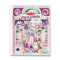 Adhezní kniha s pěnovými samolepkami Melissa & Doug