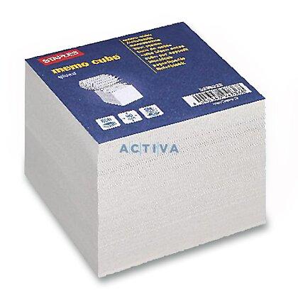 Obrázek produktu Staples Memo Cube - poznámkový bloček - 90 x 90 mm, 800 l.