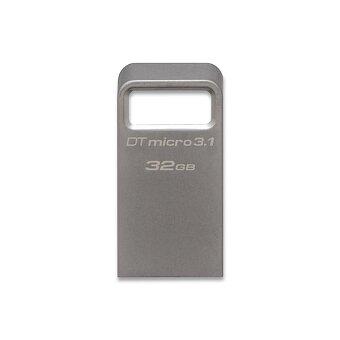 Obrázek produktu Kovový flash disk Kingston DataTraveler Micro 3.1 - výběr kapacit