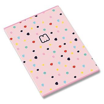 Obrázek produktu Školní sešit Ambar Marshmallow - A5, linkovaný, 60 listů, mix motivů