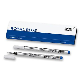 Obrázek produktu Náplň Montblanc do finelineru - M, 2 ks, royal blue