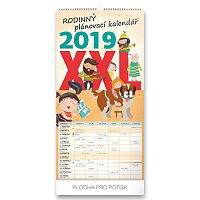 Rodinný plánovací XXL 2019