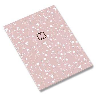 Obrázek produktu Školní sešit Ambar Marshmallow - A4, linkovaný, 60 listů, mix motivů