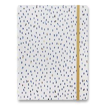 Obrázek produktu Zápisník Filofax Notebook Indigo A5 Rain