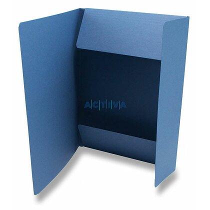 Obrázok produktu HIT - papierové dosky s troma chlopňami - A4, modré