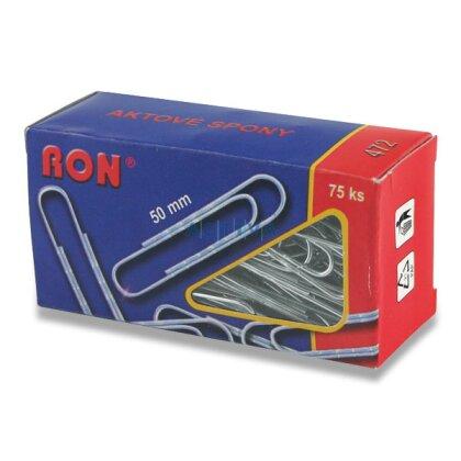 Obrázek produktu RON - kancelářské sponky - 50 mm, 75 ks