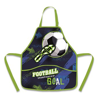 Obrázek produktu Zástěra do výtvarné výchovy Fotbal