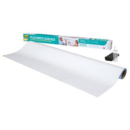 Obrázek produktu 3M Post-it Super Sticky Flex Write - samolepicí popisovatelná fólie - 90 x 120 cm
