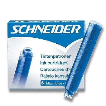 Obrázek produktu Inkoustové bombičky Schneider, 6 ks - výběr barev