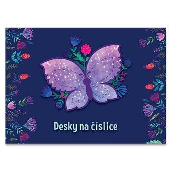Obrázek produktu Desky na číslice Motýl