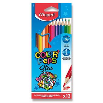 Obrázek produktu Pastelky Maped Color'Peps - 12 barev