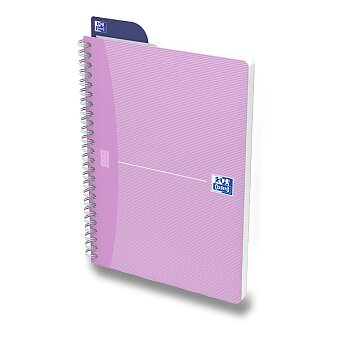 Obrázek produktu Kroužkový blok Oxford Woman - A4, 90 listů, linkovaný, mix barev