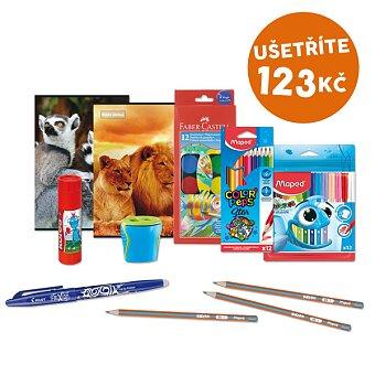 Obrázek produktu Balíček školních potřeb Activáček - 10 kusů