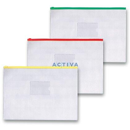 Obrázek produktu OA - spisovka s umělohmotným zipem A4