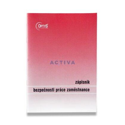 Obrázek produktu Optys Zápisník bezpečnosti práce - A5, 20 l.