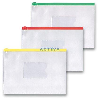 Obrázek produktu OA - spisovka s umělohmotným zipem A5