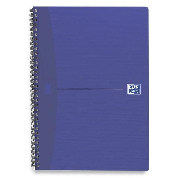 Kroužkový blok Oxford Essentials A5, 90 listů, linkovaný, mix barev
