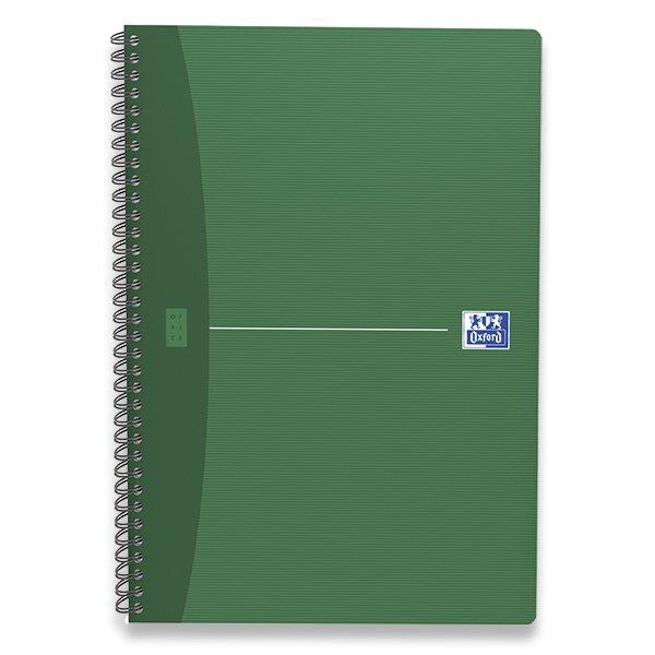 Kroužkový blok Oxford Essentials A4, 90 listů, linkovaný, mix barev