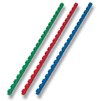 Obrázek produktu Plastové hřbety pro kroužkové vazače - 10 mm, max. 65 listů, výběr barev