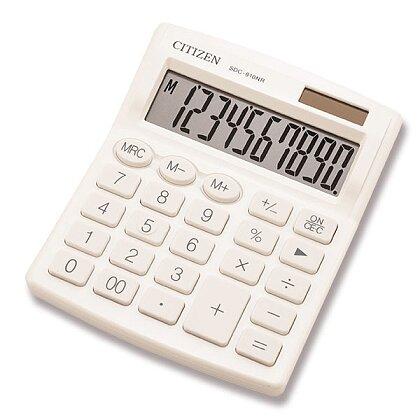 Obrázek produktu Citizen SDC-810NR - kancelářský kalkulátor - bílý