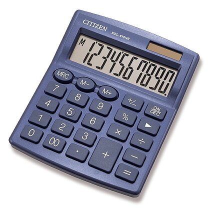 Product image Citizen SDC-810NR - office calculator - blue