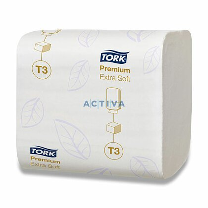 Obrázek produktu Tork Folded Extra Soft - skládaný toaletní papír - 2-vrstvý, 252 ks