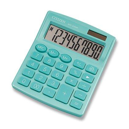 Obrázek produktu Citizen SDC-810NR - kancelářský kalkulátor - zelený