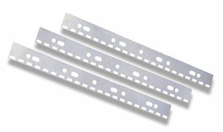 Obrázek produktu Hřbet na zavěšení svázaných dokumentů IBICo - 100 ks, bílý