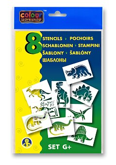 Obrázek produktu Šablony Centropen G+ Prehistorická zvířata