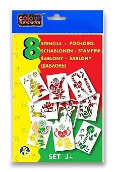 Obrázek produktu Šablony Centropen J+ Vánoce