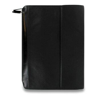 Obrázek produktu Portfolio A4 Filofax Nappa Zip - černé
