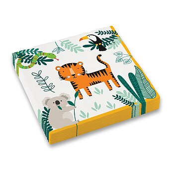 Obrázek produktu Papírové ubrousky Get Wild - 33 x 33 cm, 16 ks