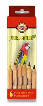 Obrázek produktu Pastelky Koh-i-noor 2171 Jumbo Natur - 6 barev