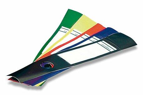Obrázek produktu Samolepící hřbet na pořadače Durable - 40 mm, 10 ks, výběr barev