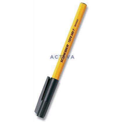 Obrázek produktu Schneider Tops 505 - jednorázová kuličková tužka - černá
