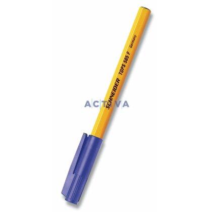 Obrázek produktu Schneider Tops 505 - jednorázová kuličková tužka - modrá