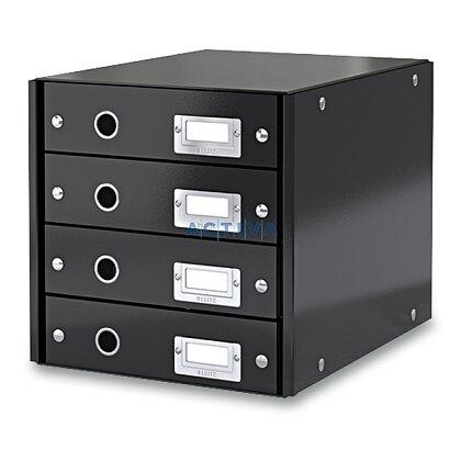 Obrázek produktu Leitz - zásuvkový box - 4 zásuvky, černý