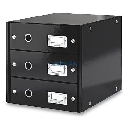 Obrázek produktu Leitz - zásuvkový box - 3 zásuvky, černý