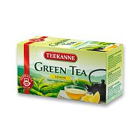 Zelený čaj Teekanne Green Tea Lemon