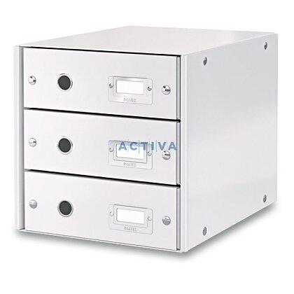 Obrázek produktu Leitz - zásuvkový box - 3 zásuvky, bílý
