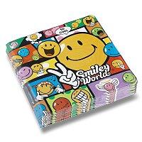 Papírové ubrousky Smile Comic