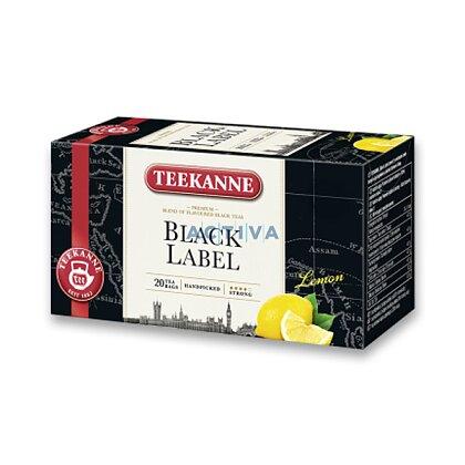 Obrázek produktu Teekanne - černý čaj - Black Lemon s vitamínem C