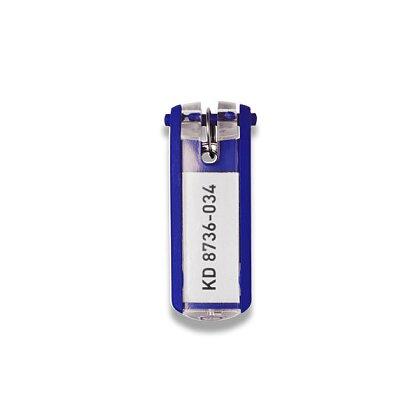 Obrázek produktu Durable Key Clip - jmenovka na klíče - modrá